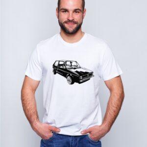 Koszulka z nadrukiem Volkswagen Golf I