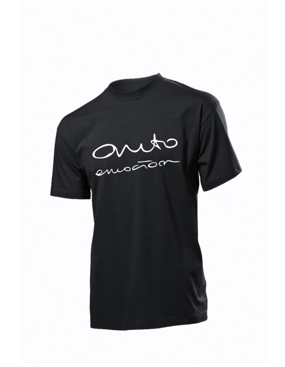 Czarna koszulka Seat Auto emotion