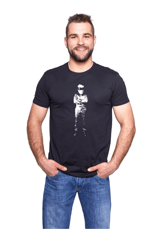 Czarna koszulka Stig