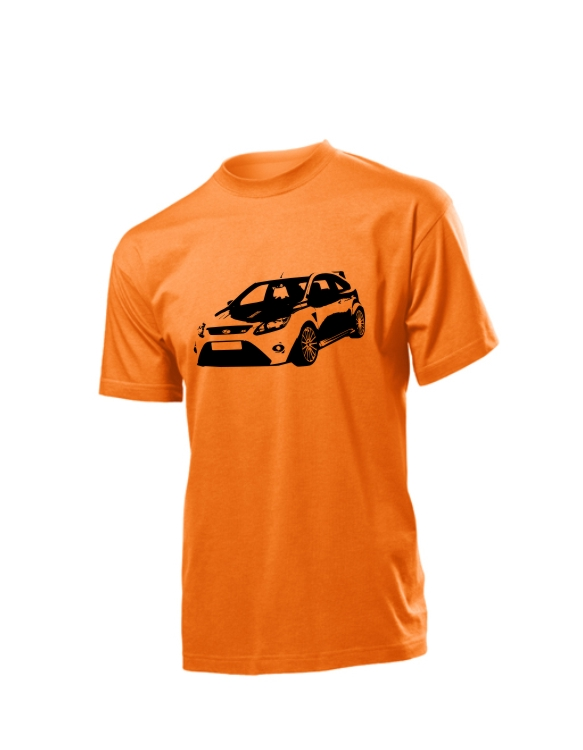 Pomarańczowa koszulka Focus RS