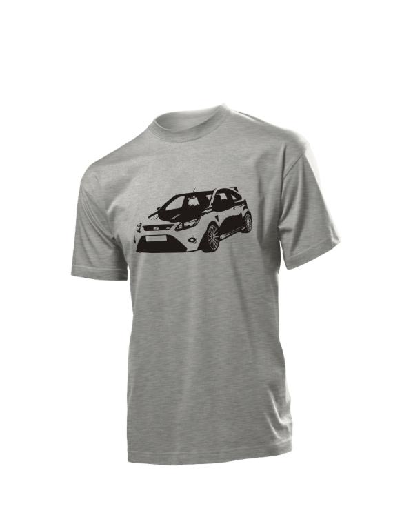 Szara koszulka Ford Focus RS