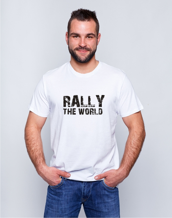 Koszulka Rally The World biała
