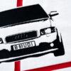 Bawełniana koszulka Audi A4