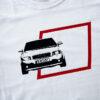 Bawełniana koszulka Audi A4 B6