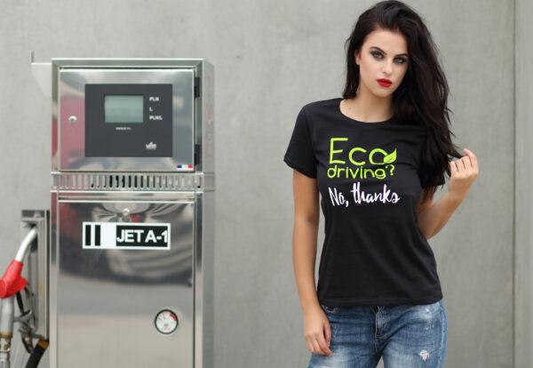 Koszulka moto Eco driving? No, thanks