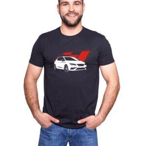 Koszulka z nadrukiem Seat Leon Cupra