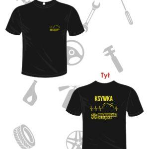 T-shirt motocyklowy z nadrukiem